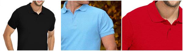 Men's polo shirt, short sleeve